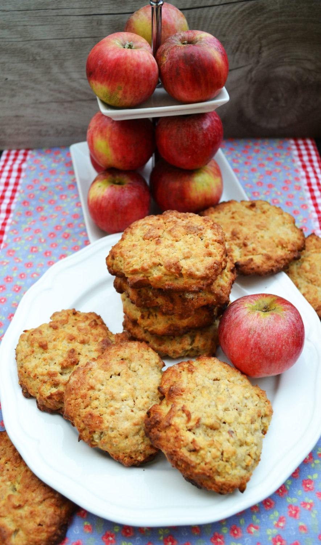 Herrlich wie die duften! Apfel-Walnuss-Cookies