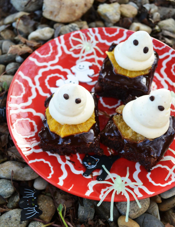 Hui Buh! Meine Gespenster-Brownies für Halloween