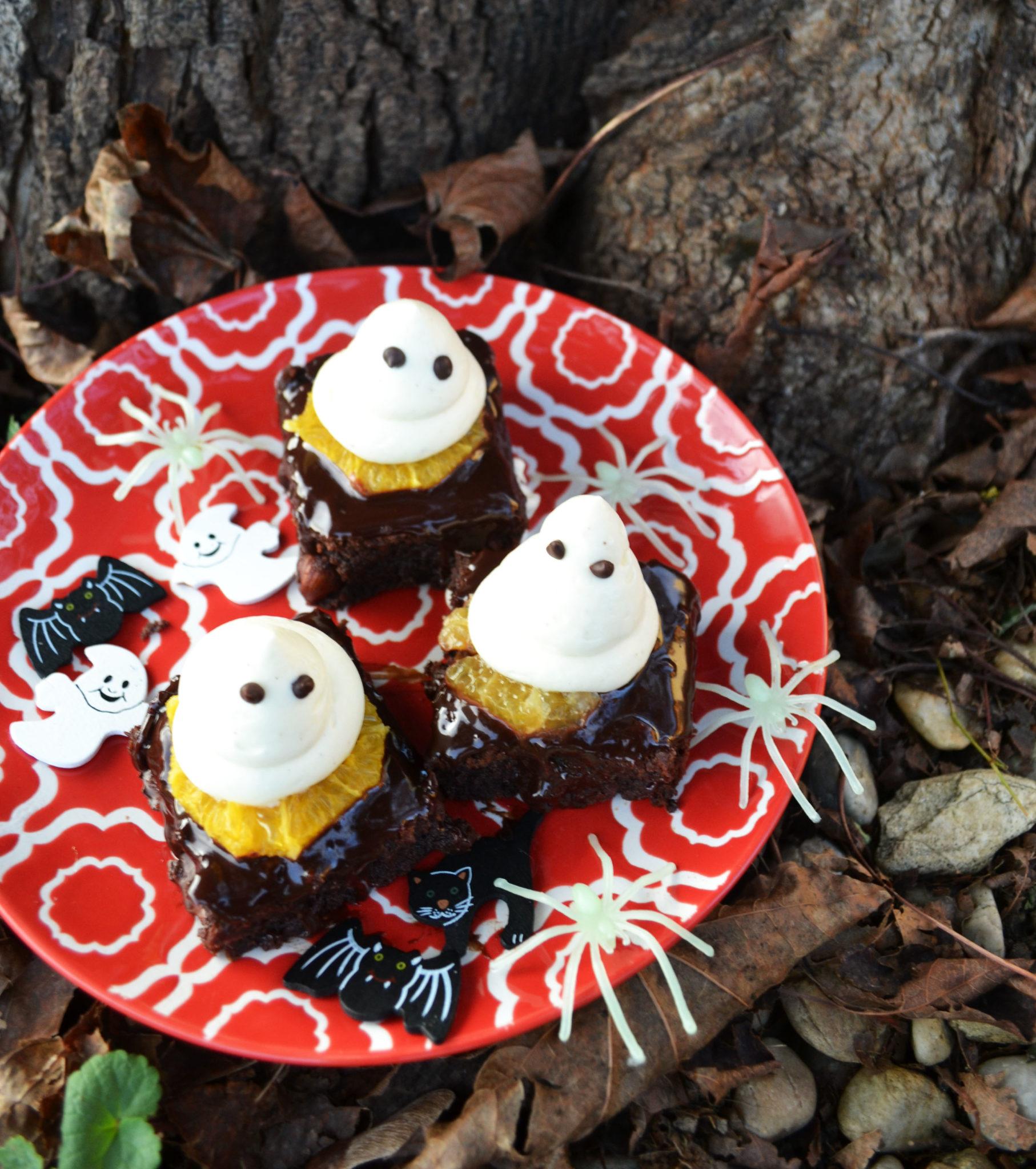Hui Buh! Meine Gespenster-Brownies für Halloween – meinleckeresleben.com