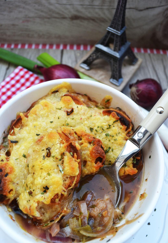 Heiß geliebter Klassiker! Französische Zwiebelsuppe