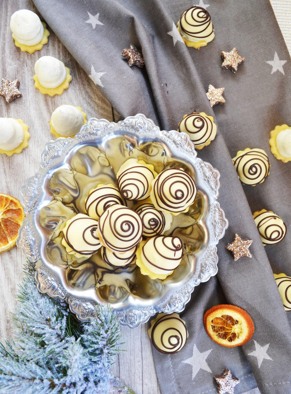 Die dürfen an Weihnachten nicht fehlen!  Weiße Schokolade-Spitzen