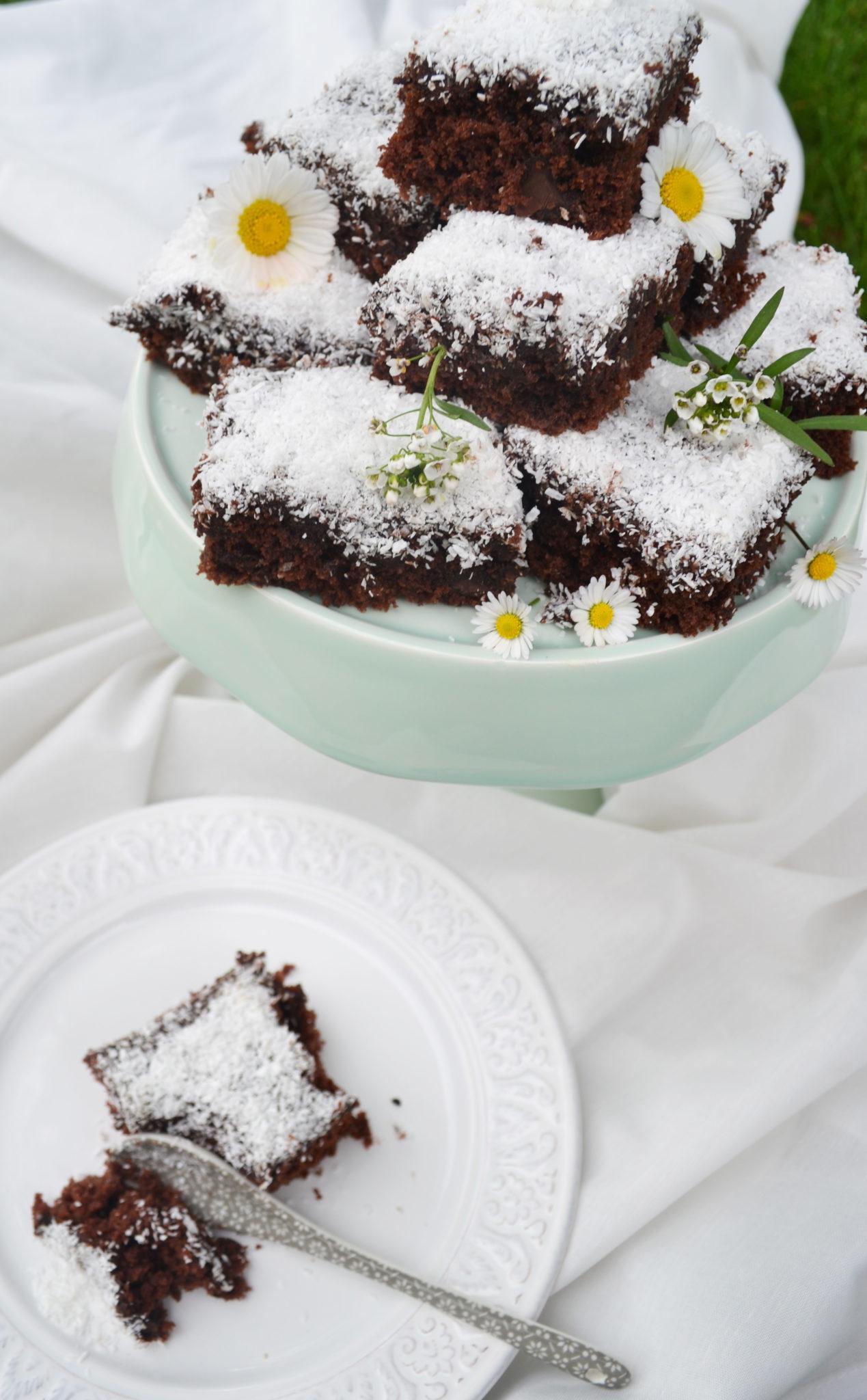 Schwedische schoko kuchen