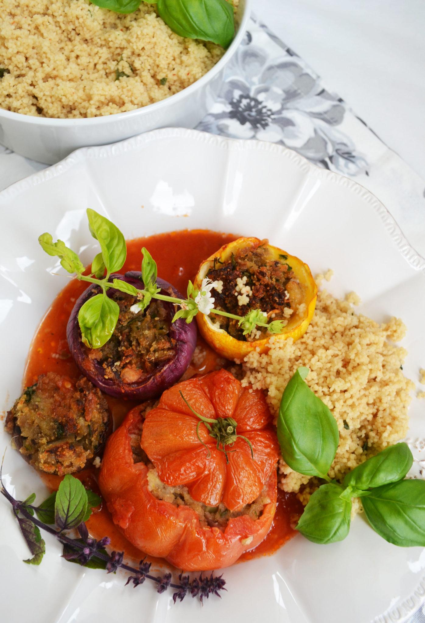 Petits Farcis! Gefülltes Gemüse auf Nizza-Art