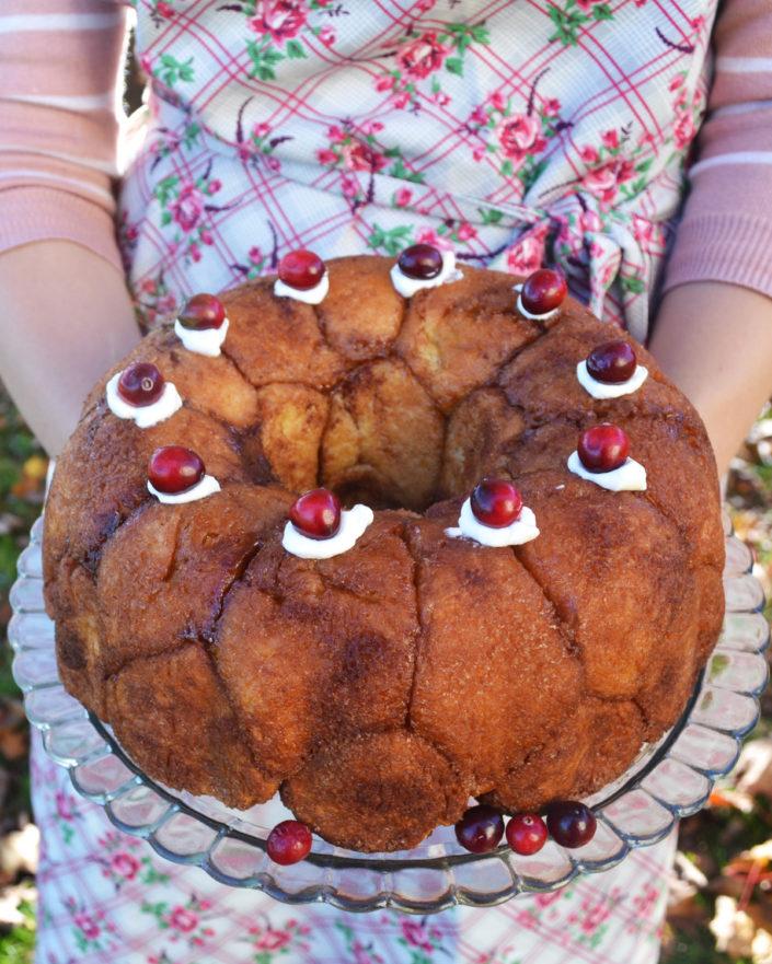 Backt euch glücklich! Monkey Bread oder einfach Zimtzucker-Zupfkuchen!
