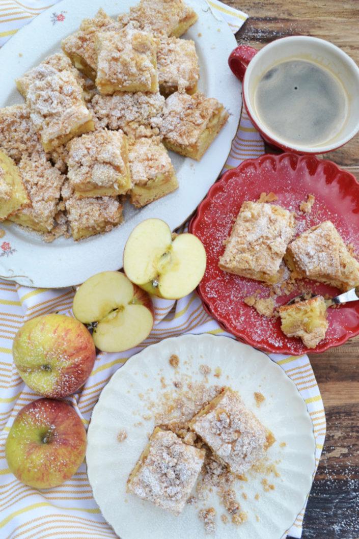 Verboten gut! Apfel-Streusel-Kuchen mit Baiser