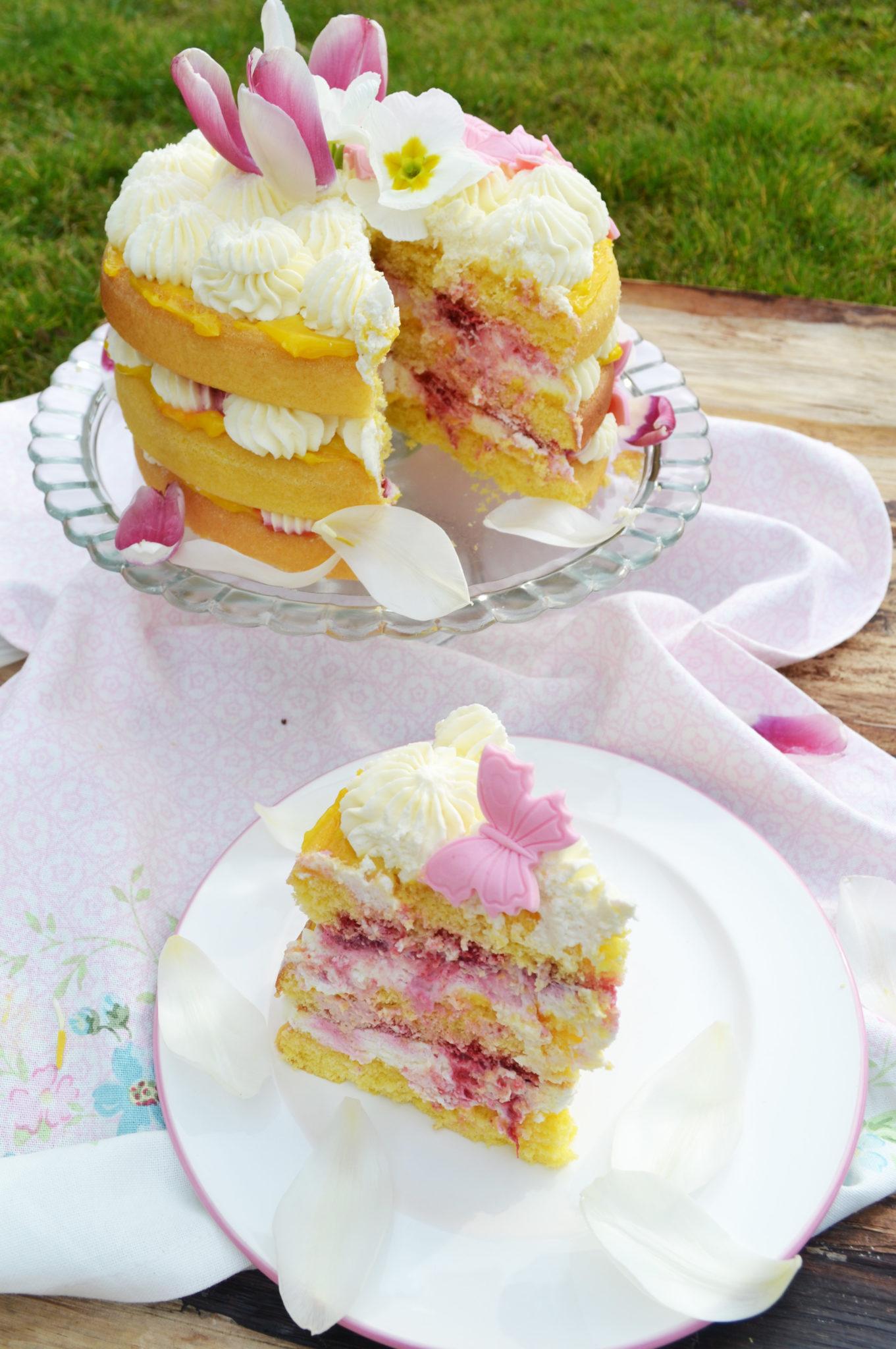 Lemon Curd Layer Cake Bon Appetit