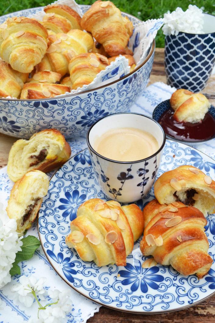 So gut wie bei den Franzosen! Selbstgemachte Croissants