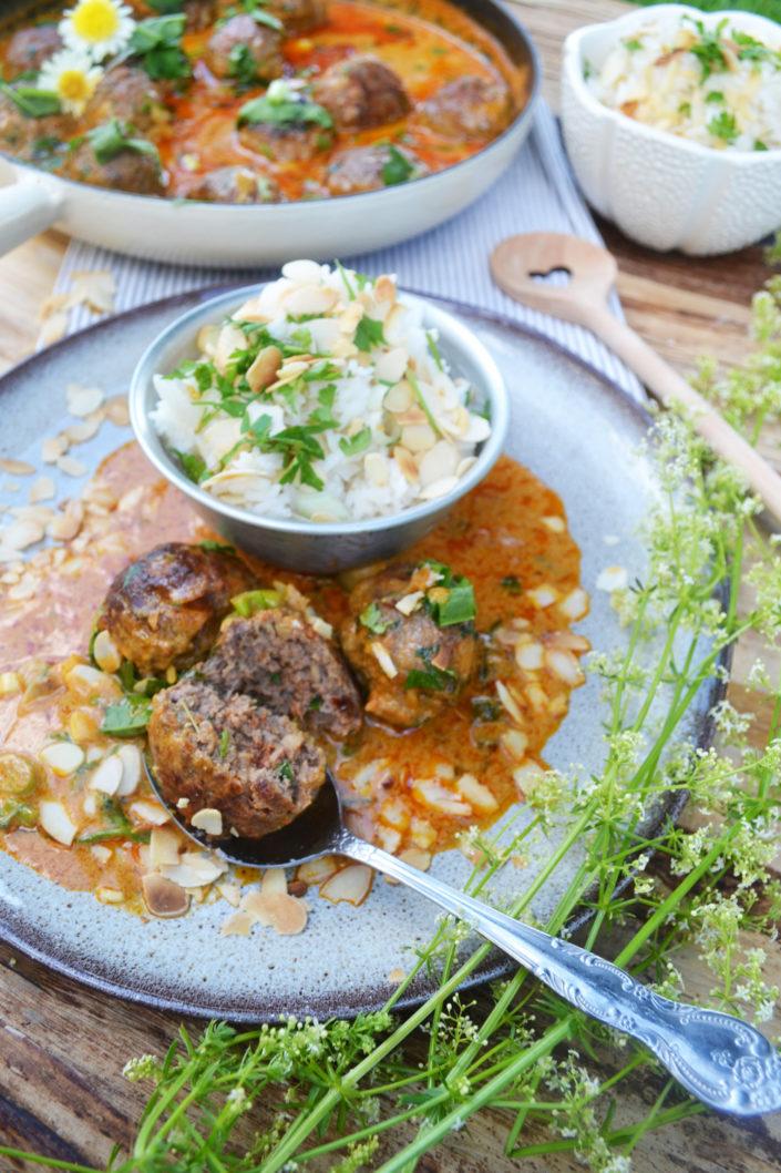 Ein Hauch Indien auf dem Teller! Tandoori-Fleischbällchen