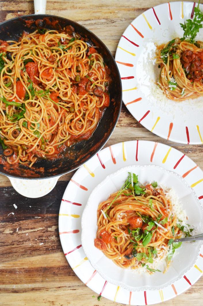 Pasta-Love! Spaghetti alla Puttanesca