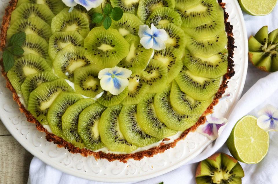 Frisches Knusperglück! Kiwi-Kokosnuss-Tarte